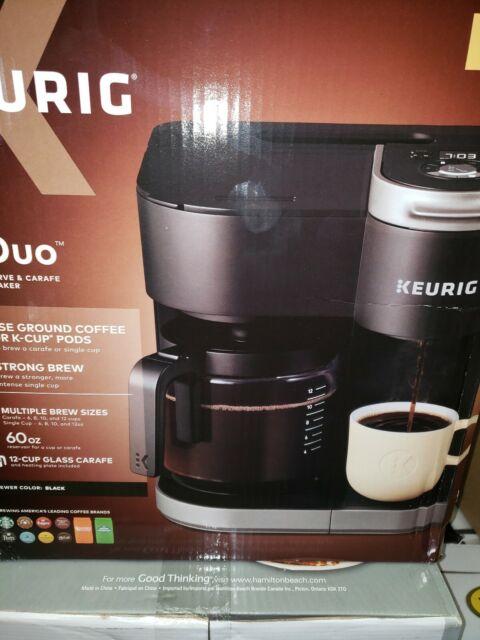 Keurig K-Duo Single-Serve & Carafe Coffee Maker - Black for sale online   eBay