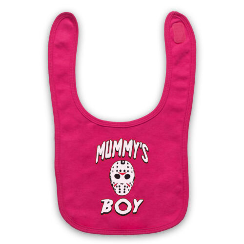 FRIDAY THE 13th JASON VOORHEES UNOFFICIAL HORROR MUMMY/'S BOY BABY BIB CUTE BABY