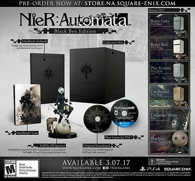 NieR: Automata Black Box Edition Limited Collector's Edition Brand New Sealed