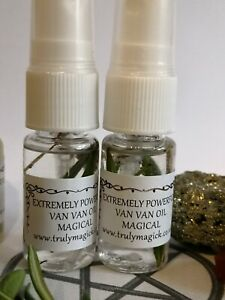Details about *VAN VAN OIL* Powerful witchcraft LUCK & SUCCESS SPRAY* 20ml  Hoodoo magic WICCA