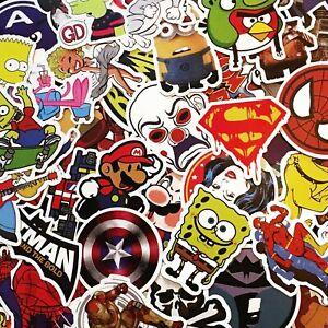Matte Personnage Stickers-film, Tv, Dessins Animés, Marvel Heroes-singles & Faisceaux-afficher Le Titre D'origine