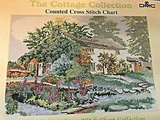 DMC con cuentas costura Mini cross stitch chart-Dedalera Cottage
