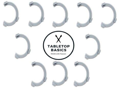 TabletopBasics Squad Marker 10 Stück 32 mm Truppmarkierung