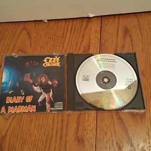 Ozzy-Osbourne-Diary-of-a-Madman-CD-EARLY-PRESS-1986-Jet-ZK-37492-Black-Sabbath