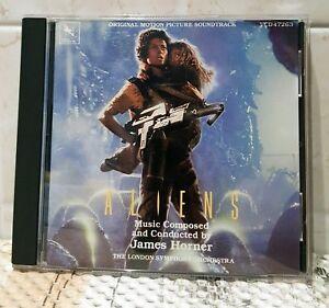 Aliens-James-Horner-OST-CD-First-edition-Varese-Sarabande