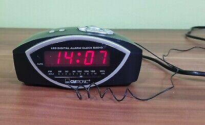 Di Animo Gentile Clatronic Orologi-radio Mrc 554 Sveglia Led Digital Allarme Clock Radio-