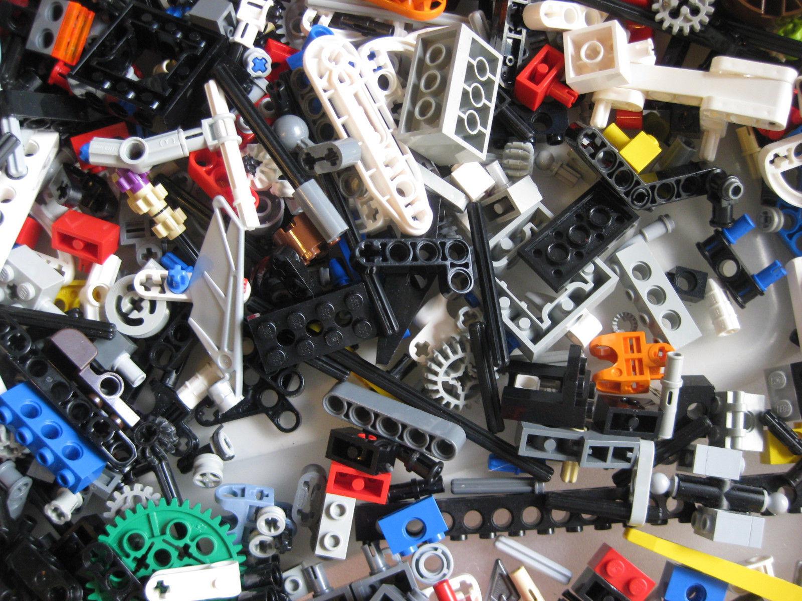 LEGO Bulk lot TECHNIC MINDSTORM PARTS 1lb pound Beams Gear Axle READ DESCRIPTION