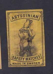Ancienne étiquette allumettes Suède BN52950 Porteuse Femme qzlMMdLO-08062719-441124889