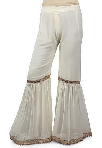 inferiori Salwar Bollywood Indiano pakistano pantaloni elegante Sharara Designer Shalwar gWqxAaZ