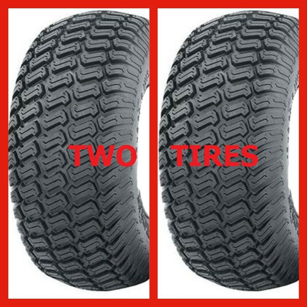 15x6.00-6 Turf Tire and Rim for Lawn and Garden Mower .75 Bushing