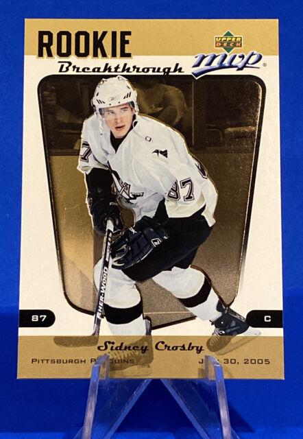 2005-06 Upper Deck MVP Sidney Crosby Rookie Card Rookie Breakthrough