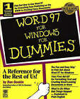 Word 97 for Windows For Dummies by Dan Gookin (Paperback, 1996)
