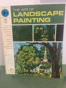 Art Supplies Crafts Dependable Grumbacher Vtg Art Of Landscape Painting 1965 How To Instruction Book 40003