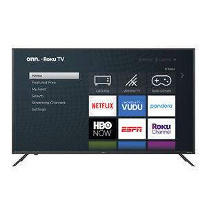 "Onn 50"" Class 4K (2160P) Roku Smart LED TV (100012585)"