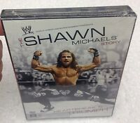 Wwe Wwf The Shawn Michaels Story: Heartbreak And Triumph - Sealed Dvd Set