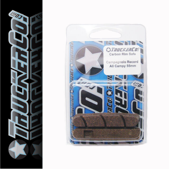 x4 pair Carbon Rim Safe TruckerCo High Performance Brake Pads shimano r55c  55mm