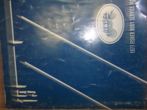 1977 Pontiac BONNEVILLE CATALINA ASTRE SUNBIRD BODY Service Shop Repair Manual