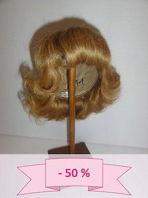 -50% Promo - Parrucca Bambola T11 (31.5cm) Capelli Ricci - Biondo Scuro