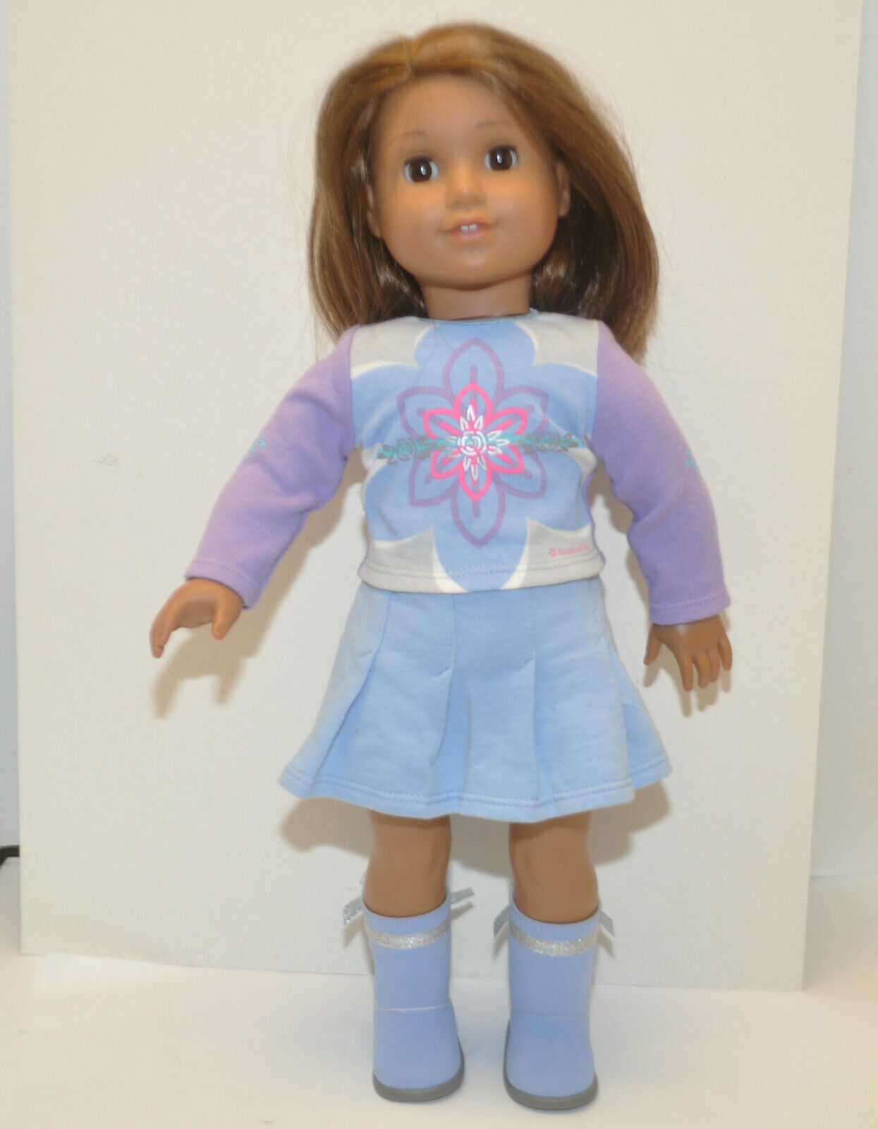American Girl Doll 2008 Just Like You Truly Me JLY  28 Short braun Hair & Eyes