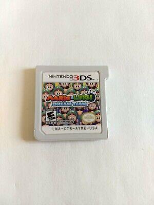 Mario Luigi Dream Team Nintendo 3ds Game Cartridge Only Free