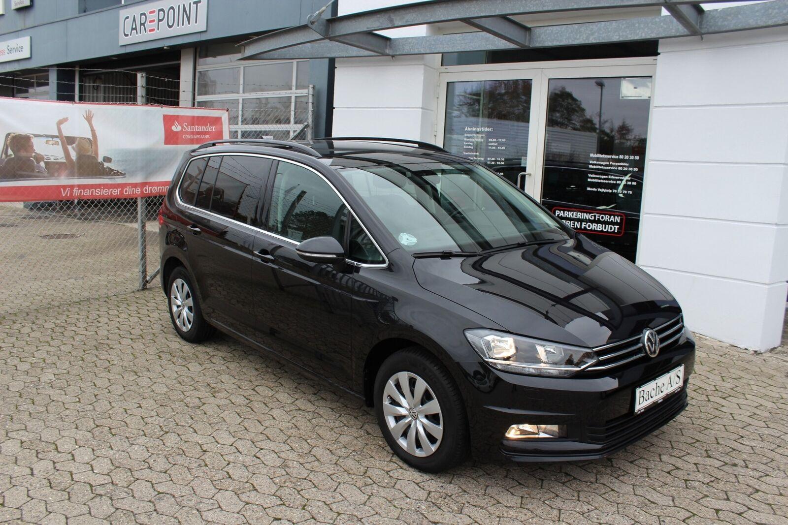 VW Touran 1,6 TDi 115 Comfortline DSG 7prs 5d - 269.800 kr.