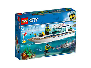 LEGO-City-60221-Tauchyacht-NEU-amp-OVP