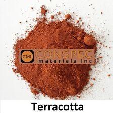TERRACOTTA Concrete Curbing Color Pigment Dye Cement Mortar Pavers Plaster 5 LBS