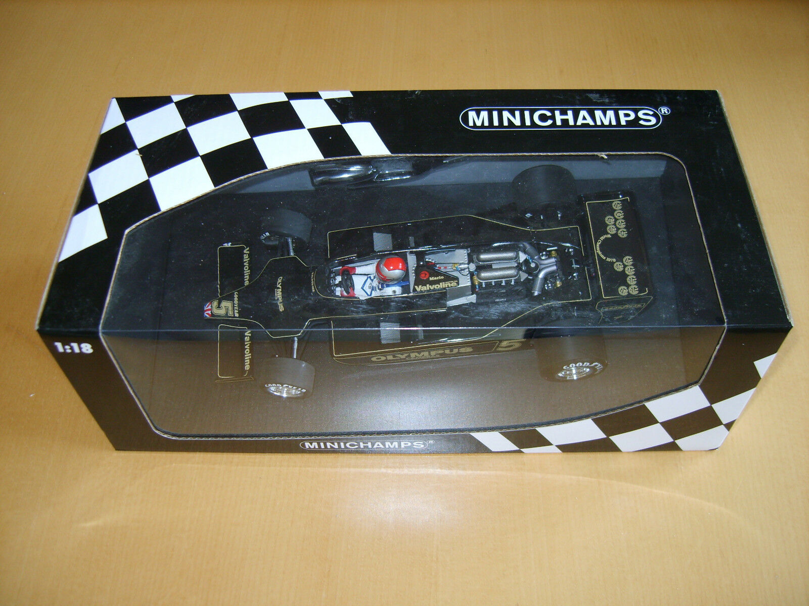 MINICHAMPS LOTUS 79 Mario Andretti 1978 World Champion F1 NEW 100780005