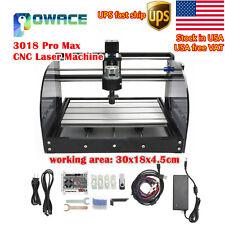 Usa3 Axis 3018 Pro Max Cnc Engraver Diy Grbl Control Mini Machine Milling Wood