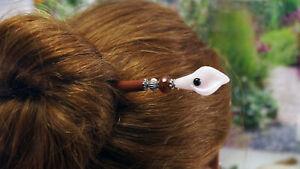 Haarstab-Holz-mit-Calla-Rosenquarz-und-Achat-Edelsteine-Haarnadel-Haarspange
