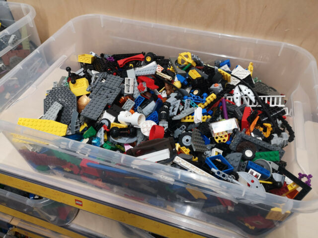1 kg LEGO ca. 700 Teile ++gereinigt++ Kiloware Räder Sonderteile Platten Steine