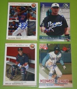 The Smoky Collection | Grandstand MiLB In Person Autograph Auto Q-Z | You Pick