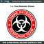 Zombie-Outbreak-Response-Team-Sticker-11cm-Car-Window-Fridge-Bumper-Z010