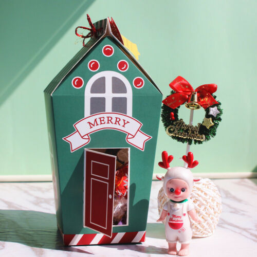 2020 NEW Christmas Gingerhouse Party Paper Favour Candy Sweets Gift Boxes