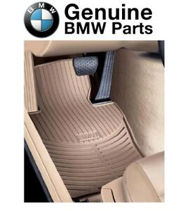 New Genuine BMW All weather Floor Mats E46 323 325 330 M3 FRONT