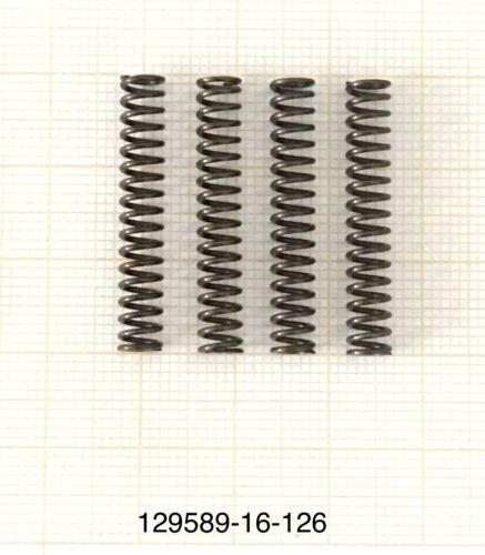 AußenØ 5mm DrahtØ 0,7mm 4 x Druckfeder Länge 29mm