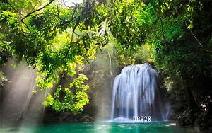 20x10FT Vinyl Studio Waterfall Backdrop Photography Props Photo Background DB928