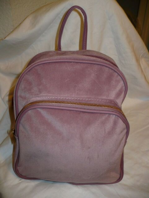 78dde25c08c No Boundaries Velvet Mini Backpack Purses Blush Color for sale ...