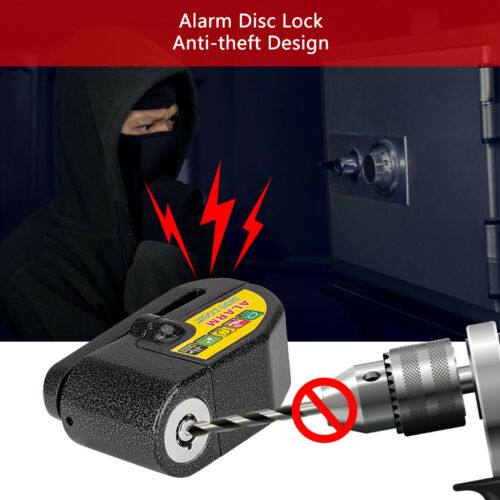 Anti-theft Bicycle Alarm Disc Lock 11Db Waterproof Bike Motorcycle Wheel Lock