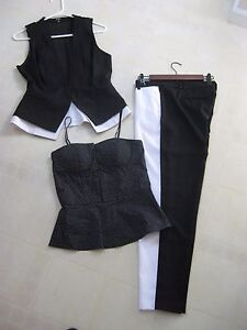XOXO-Entire-3-Piece-Outfit-and-or-Suit-M-tops-7-8-Pants-BNWT