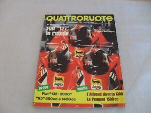 Rivista-QUATTRORUOTE-Agosto-1977