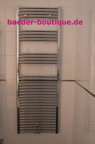 Handtuchheizkörper Badheizkörper Heizkörper Mittelanschluss Chrom    600 x1760mm e841cc