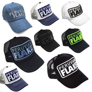 Image is loading Peruvian-Flake-Original-Trucker-hat-Snap-Back-choice- 018fc65c8f5