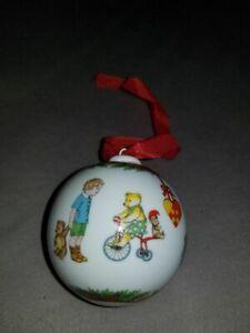 Hutschenreuther-Weihnachtskugel-1997-Porzellan-ohne-OVP