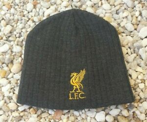 72050701b48 Image is loading Liverpool-FC-Beanie-Hat-Embroidered-Logo-Winter-hat