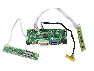 LED LCD Controller Inverter Driver Board Kit for CLAA154WA01A HDMI+DVI+VGA