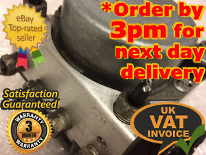 Vauxhall-Corsa-ABS-Pump-ECU-Unit-13277812-FB-0265232238-0265800422