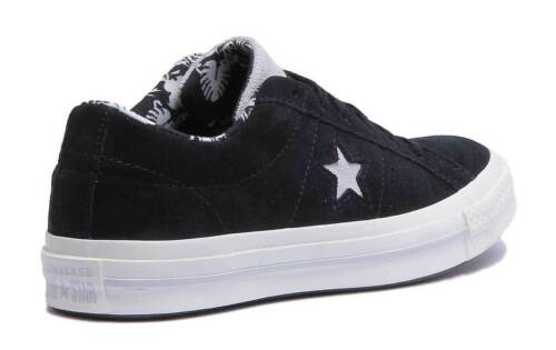 Black Taylor White Suede Trainers Size Uk Converse Women 3 Ox Chuck 8 Star YwqU0