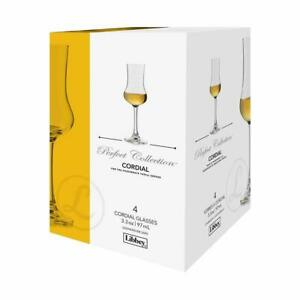 New-Libbey-4-Cordial-Glasses-The-Perfect-Collection-3-3oz-97ml-Netherlands