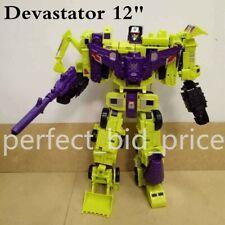 Transformers Devastator 6 In 1 Action Figure KO Engineering Truck Robot in Stock